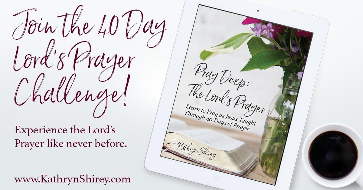 Want to experience the power of the Lord's Prayer? To pray it with meaning and impact? Take the 40 day challenge, praying the Lord's Prayer line by line, bit by bit, until it transforms your prayers.