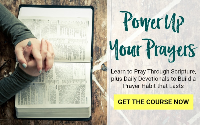 Power up your Prayers with this 30 day devotional. Learn to pray through Scripture, Lectio Divina, Gospel Contemplation. Build a daily prayer habit that lasts.