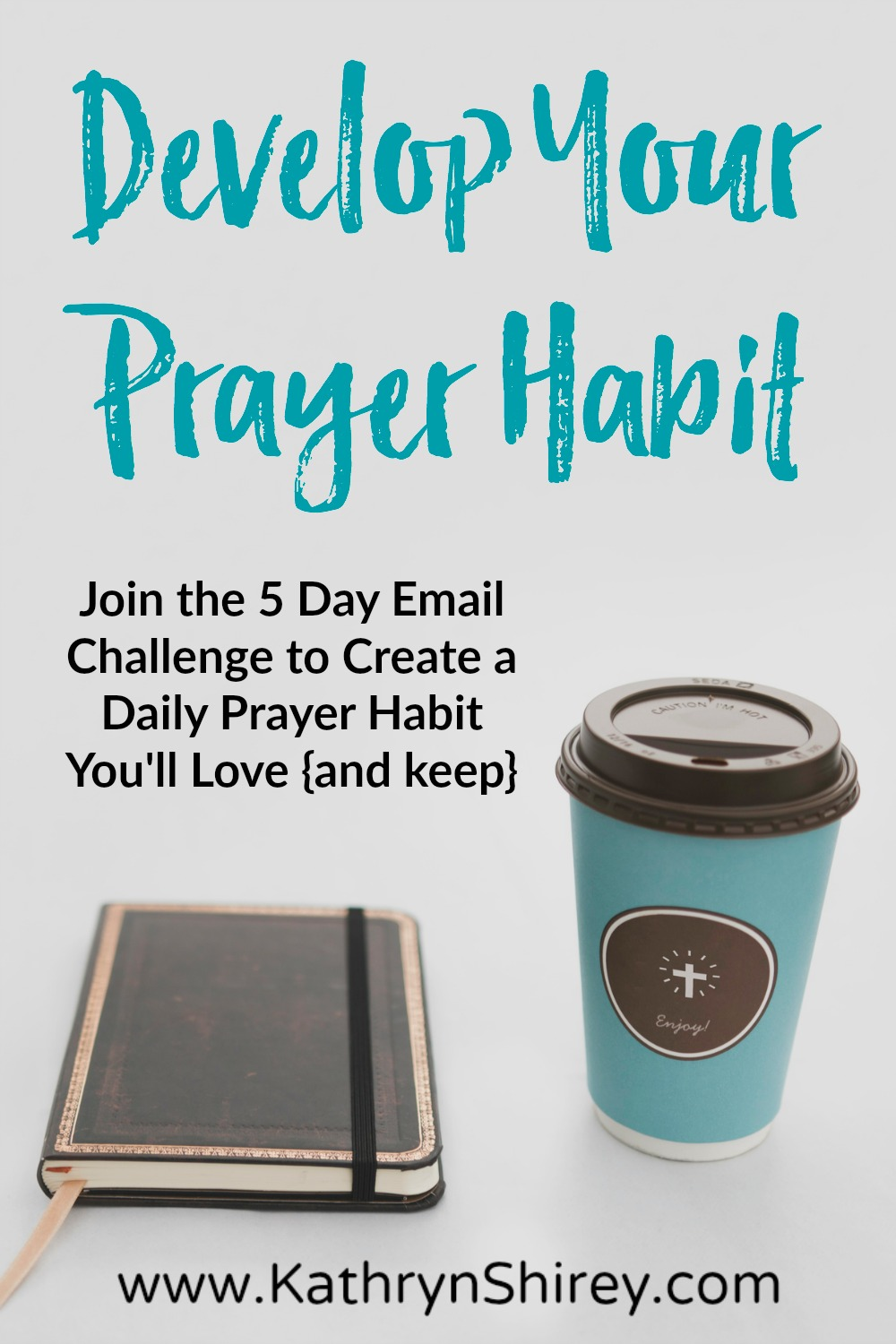 Don't think you have time for daily prayer? Want to build a more consistent, lasting prayer habit? Join this FREE 5-day email challenge to develop a prayer habit you'll LOVE and KEEP! Sign up today and get started!